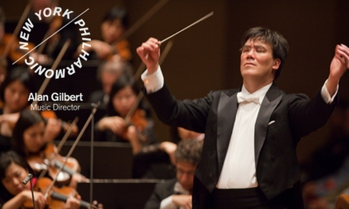 New York Philharmonic - Upper West Side: One First-Tier, Orchestra, or Second-Tier Ticket to Your Choice of Two Performances by the New York Philharmonic. Choose from Three Options.
