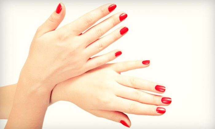 Sweet Escape Nail Lounge - Sugar Land: $20 for a Shellac Manicure with Paraffin Wax and Hand Massage at Sweet Escape Nail Lounge in Sugar Land ($40 Value)