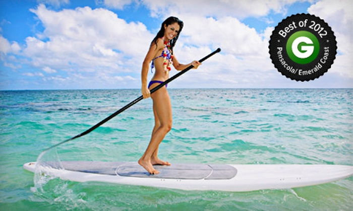 GUSU Paddlesports - Destin Harbor: $60 for a Half-Day Standup-Paddleboard Rental for Two at GUSU Paddlesports ($120 Value)