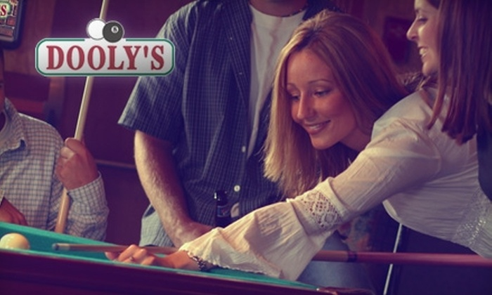 Dooly's - Rockingham: $18 for Two Hours of Pool and One Pitcher ($38.15 Value) or $25 for a Lifetime Membership, Two Hours of Pool, and One Pitcher ($53.15 Value)