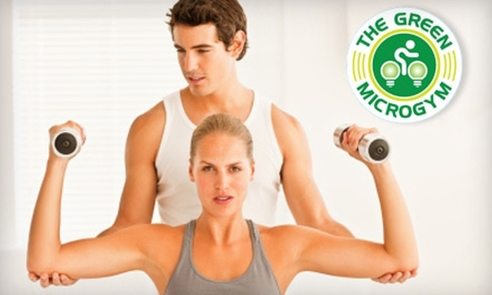The Green Microgym - King: $290 for One-Year Membership to The Green Microgym ($580 Value)