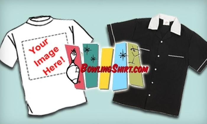 Bowlingshirt.com: $20 For $40 Worth of Custom Bowling Shirts and Retro Apparel from Bowlingshirt.com