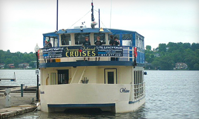 Scugog Island Cruises - Port Perry: Adult Dinner-Dance Cruise or Lite Lunch Sightseeing Cruise from Scugog Island Cruises in Port Perry