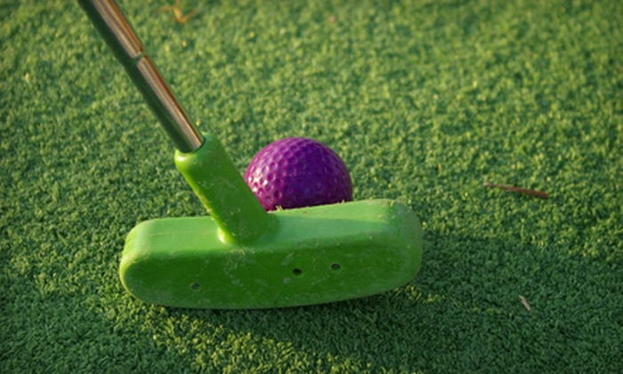 Evie's Golf Center - Sarasota Springs: Mini-Golf Outing with Pizza and Soft Drinks for Two or Four at Evie's Golf Center in Sarasota (Up to 54% Off)