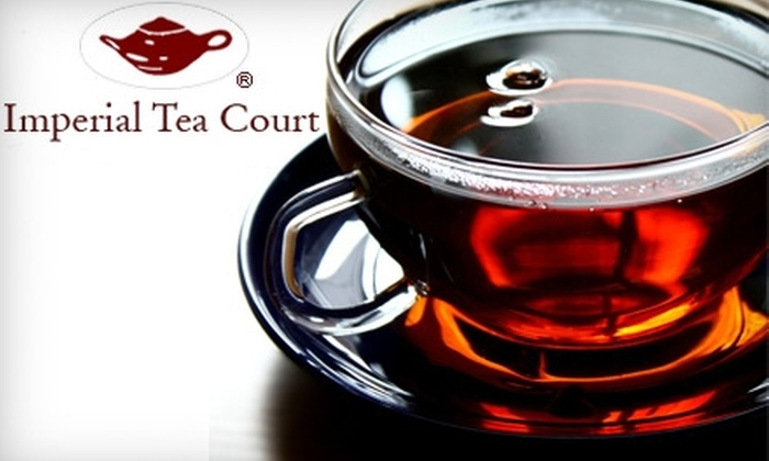 Imperial Tea Court - Multiple Locations: $15 for Tea Presentation and Tasting for Two at Imperial Tea Court ($30 Value)