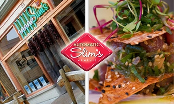 Automatic Slim's - Downtown Medical Center: $15 for $30 Worth of Innovative Southern Cuisine and Drinks at Automatic Slim's