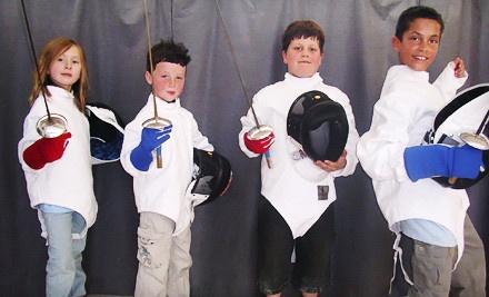 5 Group Fencing Lessons (a $75 value) - En Garde Fencing in Santa Rosa