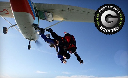 Tandem Skydiving Jump (up to a $259 value) - Adventure Skydiving in Steinbach