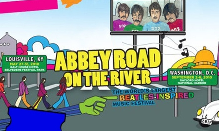Abbey Road on the River - Fort Washington: $35 for a Single-Day Best Ticket to Ride at Abbey Road on the River ($70 Value)