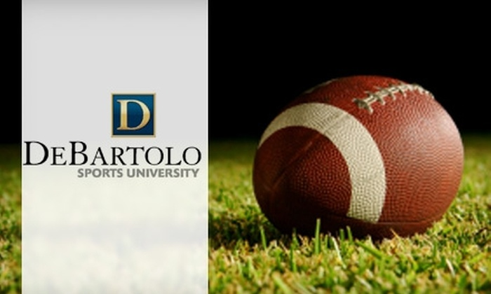 DeBartolo Sports and Entertainment - Northeast Tampa: $39 for Outback Bowl Youth Football Clinic with DeBartolo Sports and Entertainment on Tuesday, December 28 ($100 Value)