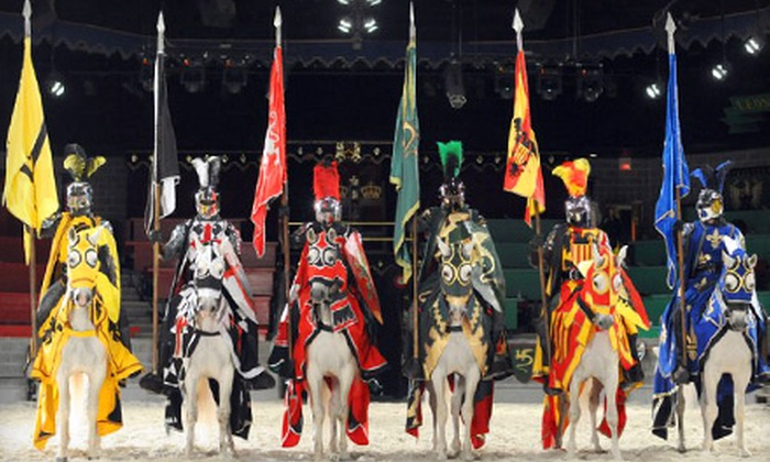 Exciting dinner theatre at the Toronto Medieval Times, a spectacular show based on medieval Spain, with knights in combat, horses, falcons, swordplay and more. Travel through the mists of time to a forgotten age at Medieval Times Dinner & Tournament.5/5(5).