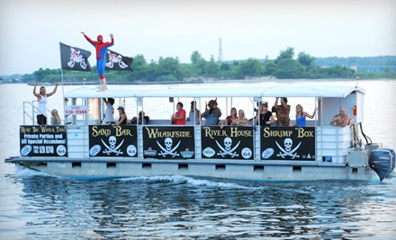 Choice of Hayride Bar Cruise or Treasure Island Tour for 2 (up to a $60 value) - Manasquan Water Taxi in Brielle