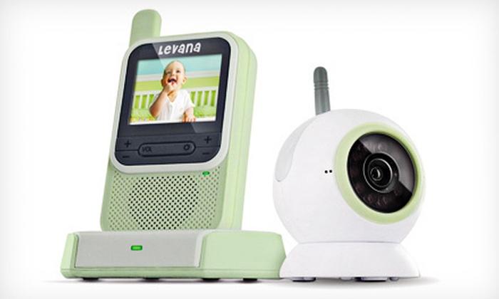 up to 70 off digital video baby monitor groupon goods. Black Bedroom Furniture Sets. Home Design Ideas