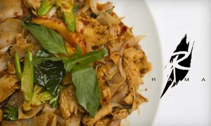 Rama - Marina: $15 for $35 Worth of Thai Cuisine and Drinks at Rama
