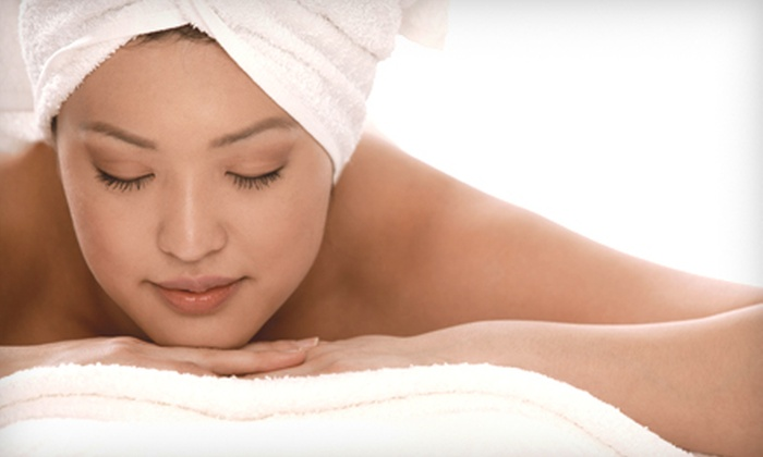 Terra Spa - Downtown Dedham: Massage, Massage and Facial Package, or Massage, Facial, and Mani-Pedi Package at Terra Spa in Dedham (Up to 54% Off)