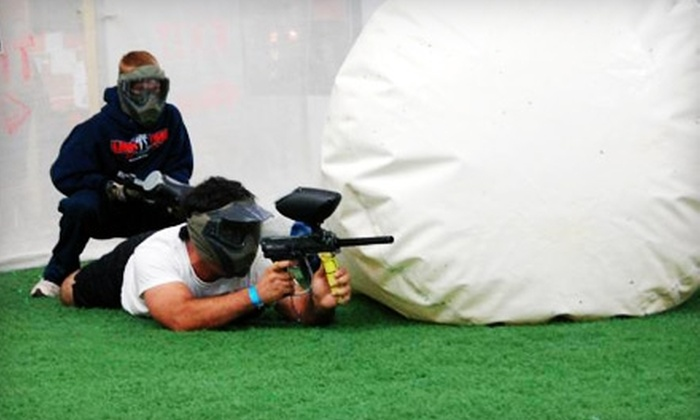 Gatsplat - Lewisville: $10 for All-Day Admission and Paintball Equipment at Gatsplat in Lewisville (Up to $31 Value)