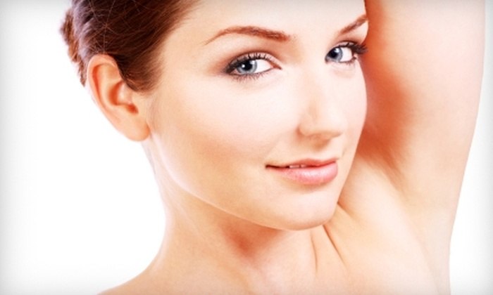 Body Anew Medical Spa - Ridgeland: $99 for Three Laser Hair-Removal Treatments at Body Anew Medical Spa (Up to $750 Value)