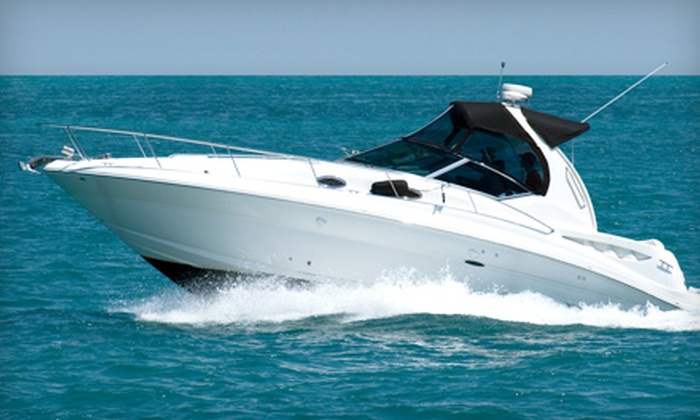 The Boat Fleet - Lake Colony Apartments: $99 for a Half-Day Boat Rental for Up to 10 from The Boat Fleet in North Palm Beach ($199 Value)