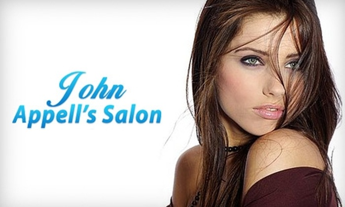 John Appell's Salon - Baton Rouge: Up to 58% Off Salon Services at John Appell's Salon in Walker. Choose From Two Options.
