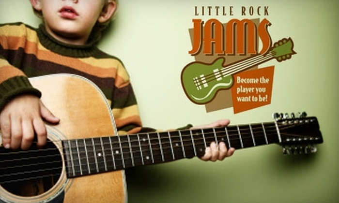 Little Rock Jams - West Markham: $50 for One Month of Group Guitar Classes at Little Rock Jams
