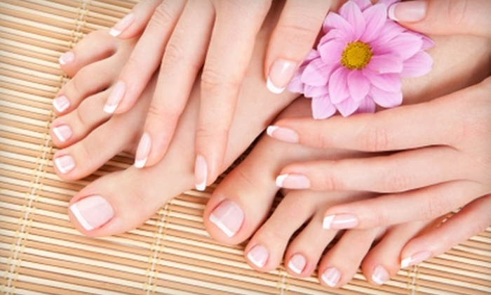 Serenity Spa  - Jamestown: $37 for a Shellac Mani-Pedi at Serenity Spa in Williamsburg (Up to $75 Value)