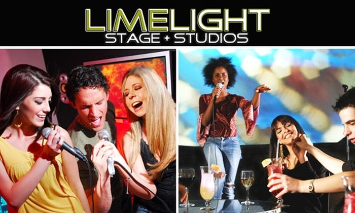 Limelight Stage & Studio - Chinatown / Leather District: Karaoke and Sake for 10 People at Limelight Stage & Studio