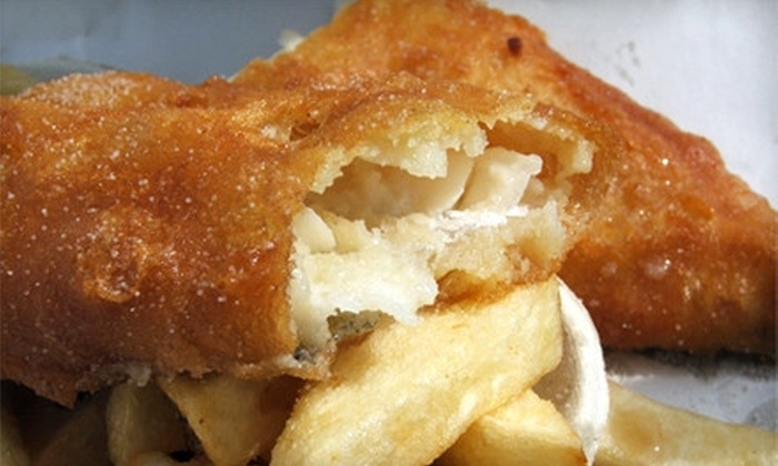 St. Andrews Fish & Chips - Scarborough: $7 for $15 Worth of British Fare at St. Andrews Fish & Chips in Scarborough
