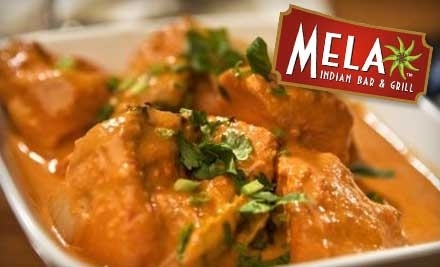$20 Groupon to Mela Indian Bar & Grill - Mela Indian Bar & Grill in San Antonio
