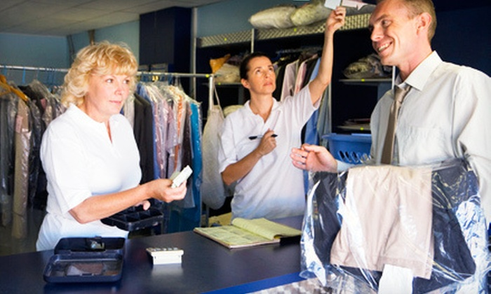 Panetta's Express Cleaners - Vaughan: Wedding-Dress Cleaning or $15 for $30 Worth of Dry-Cleaning Services at Panetta's Express Cleaners in Concord