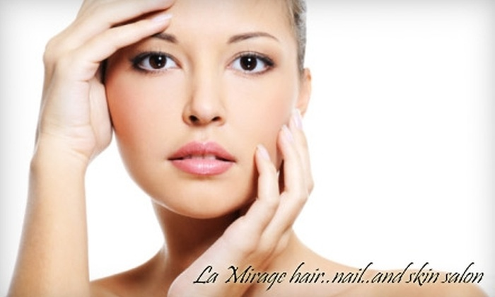 La Mirage Hair, Nail, and Skin Salon - East Arlington: $49 for $100 Worth of Services at La Mirage Hair, Nail, and Skin Salon in East Arlington