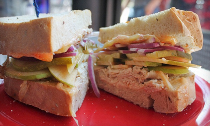 Ocean State Sandwich Company - Johnston: Gourmet Sandwiches, Homemade Soups, and Drinks at Ocean State Sandwich Company (Half Off). Two Options Available.