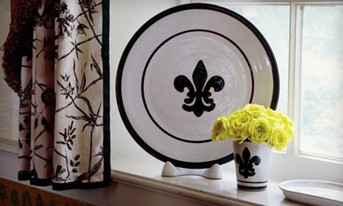 Louisville Stoneware - Jackson: $12 for a Paint-Your-Own-Pottery Session and Factory Tour at Louisville Stoneware (Up to a $25 Value)