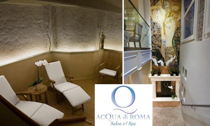 Acqua di Roma - Financial District: $55 for One of Two Detox Services at Acqua di Roma ($110 Value)