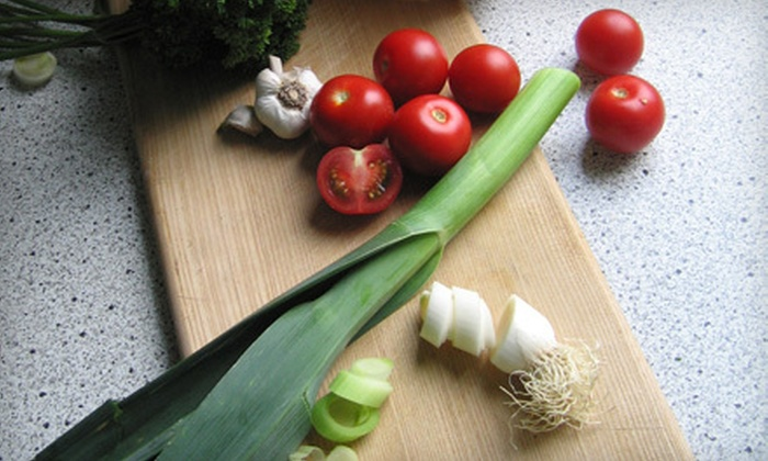 Meals that Heal - San Marcos: $39 for a Two-Hour Healthy-Cooking Class with Dinner Included at Meals That Heal in San Marcos ($85 Value)