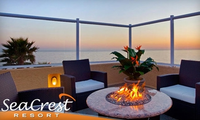 SeaCrest Resort - Multiple Locations: $150 for an Ocean-View Room at SeaCrest Resort Plus a Wine Tasting and Split of Wine at Tastes of the Valleys in Pismo Beach