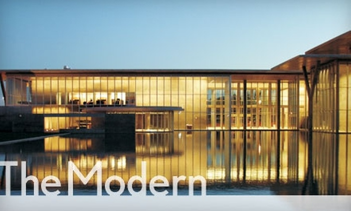 Modern Art Museum of Fort Worth - Cultural District: $30 for an Annual Membership for Two to the Modern Art Museum of Fort Worth ($65 Value)
