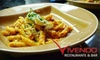 Vivendo Restaurant & Bar - Country Village - Lake Pleasant: $20 for $40 Worth of Mediterranean Cuisine and Drinks at Vivendo Restaurant & Bar in Bothell