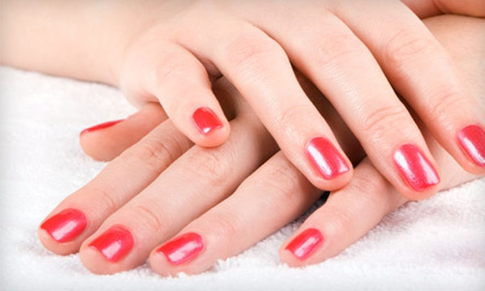 Medical Esthetics by Katie - Sapperton: One or Two Akzentz Gel Manicures at Medical Esthetics by Katie in New Westminster (Up to 61% Off)
