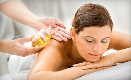 50-Minute Fall Harvest Aromatherapy Body Buff Treatment (a $65 value) - Alchemista in Tucson