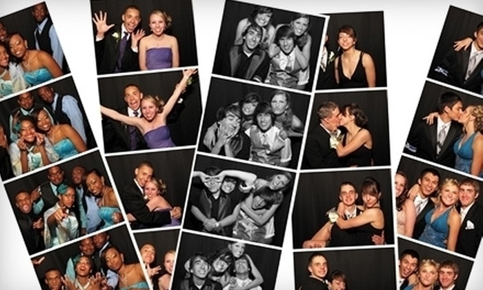 The Little Black Booth by Kemmetmueller Photography - Downtown West: $700 for Four-Hour Photo-Booth Rental Package from The Little Black Booth by Kemmetmueller Photography ($1,600 Value)