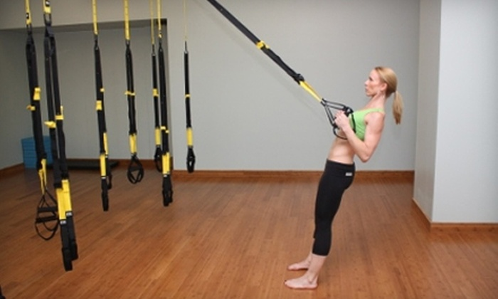 YogaWorks - Multiple Locations: $50 for Eight TRX Classes at YogaWorks (Up to $176 Value)