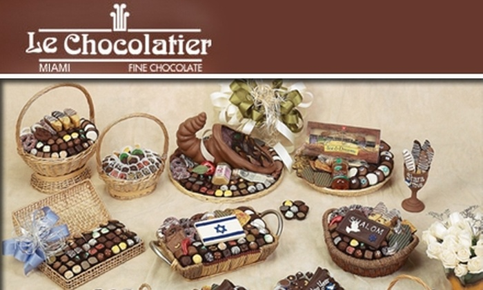 Le Chocolatier - Fulford Bythe Sea: $25 for $50 Worth of Gourmet Chocolates at Le Chocolatier