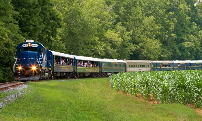 Blue Ridge Scenic Railway - Blue Ridge: Scenic Train Ride for One Adult or One Child at Blue Ridge Scenic Railway (Up to 38% Off)