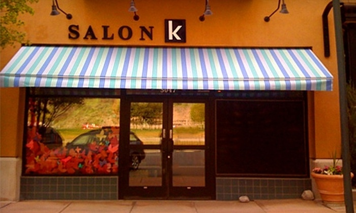 Salon K - River Bottoms: $30 for $60 Worth of Hair Services or $10 for a Men's Haircut ($20 Value) at Salon K