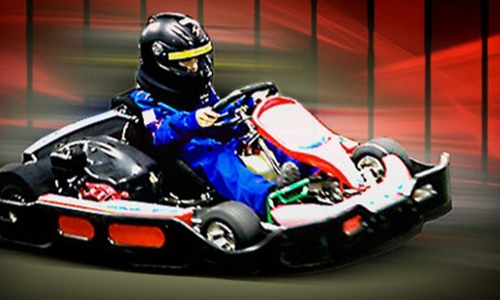 Grand Prix New York - Mount Kisco: Kids' or Adult Go-Kart Racing Package at Grand Prix New York