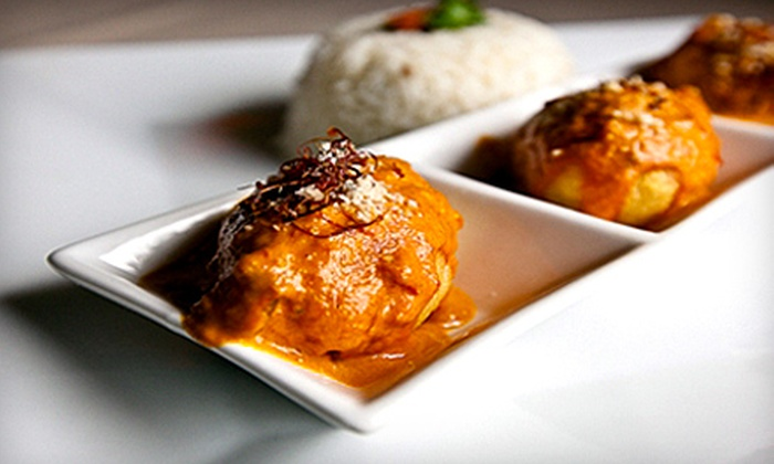 Cafe of India - AU Park - Friendship Heights - Tenley: $12 for $25 Worth of Authentic Indian Fare at Cafe of India