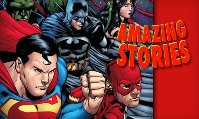 Amazing Stories - Brevoort Park: Amazing Stories $15 for $30 of Comics and Collectables at Amazing Stories