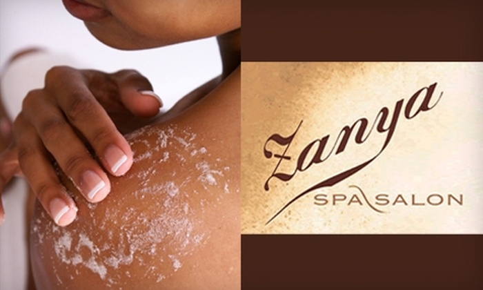 Zanya Spa - Lambertville: $89 for a 110-Minute Body Scrub and Massage at Zanya Spa/Salon in Lambertville ($185 Value)