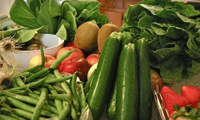 naturalfarms - Kendall-Whittier: $38 for a One-Year Membership to naturalfarms and One Bag of Locally Grown Produce or Meat ($84.10 Value)