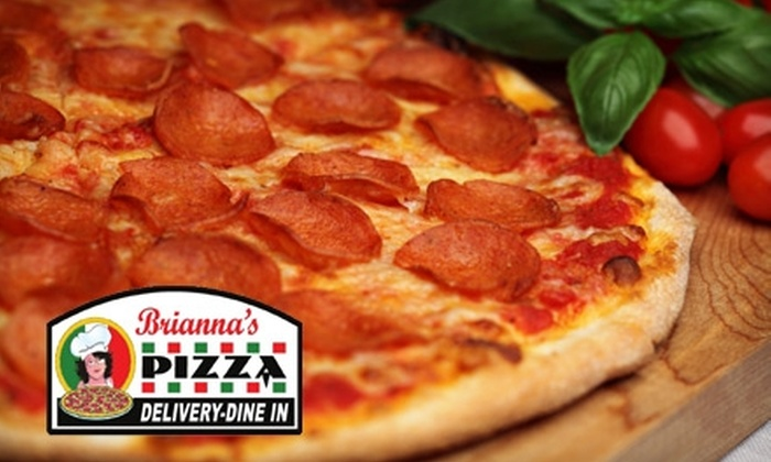 Brianna Pizza - Permian Estates: $7 for $15 Worth of Pizza and American Fare at Brianna's Pizza